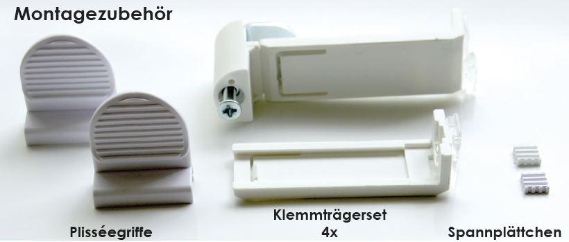 plissee halterung ohne bohren affordable plisserollo easyfix montage ohne bohren trkis bcm x. Black Bedroom Furniture Sets. Home Design Ideas