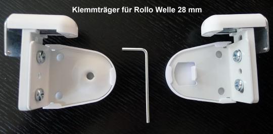 Klemmträger für Rollo