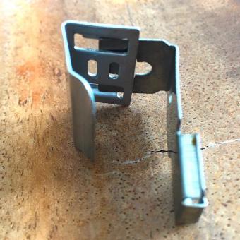 Klemmträger V2A Stahl Klemmbereich von 7 - 15 mm