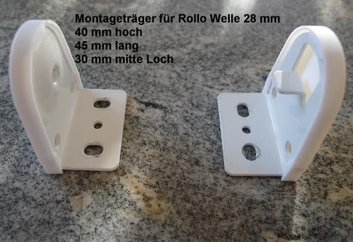 Montageträger für 28 mm Welle