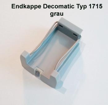 Endkappe Premium Decomatic Farbe grau