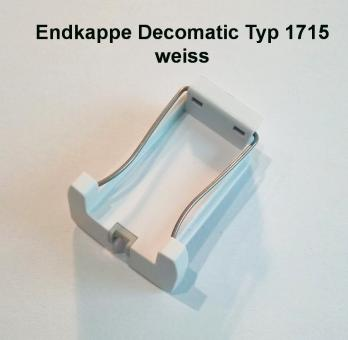 Endkappe Premium Decomatic Farbe weiss