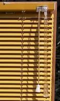 Wendestab Plexi für Jalousie 25 mm