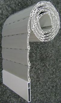 zuschnitt rolladen pvc profil 38 mm f ldessy sonnenschutzsysteme. Black Bedroom Furniture Sets. Home Design Ideas