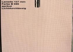 Vertikal Jalousie 127 Mm Farbe B 086 Apricot Sonderangebot