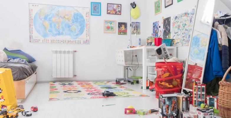 Einrichtung Kinderzimmer: Plissee am Gesamtbild ausrichten